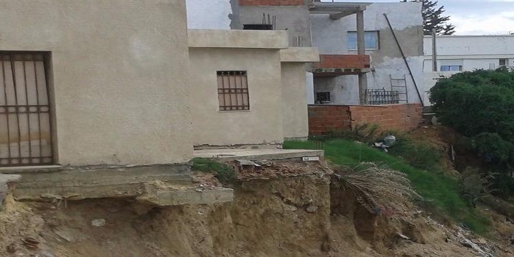 الحمامات :انقطاع في الماء الصالح للشرب ومنازل آيلة للسقوط (صور)