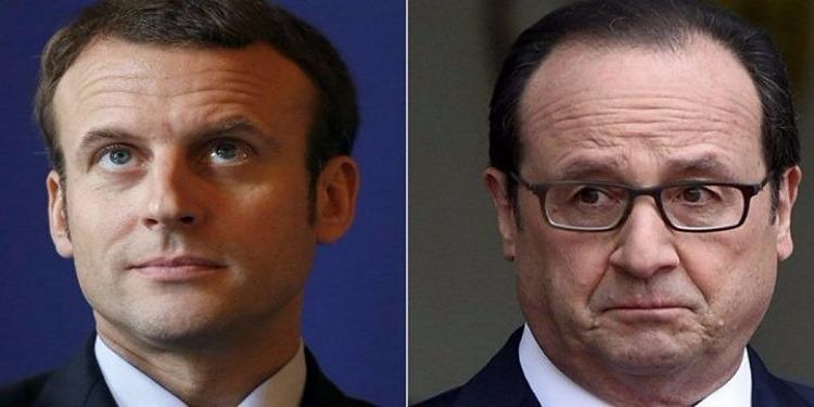 فرنسا : فرنسوا هولاند يحذر ماكرون