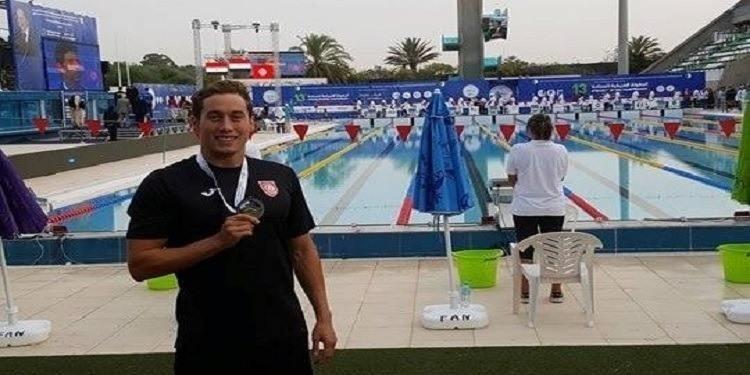 Natation: Wassim Elloumi, médaille d'or au championnat d'Afrique
