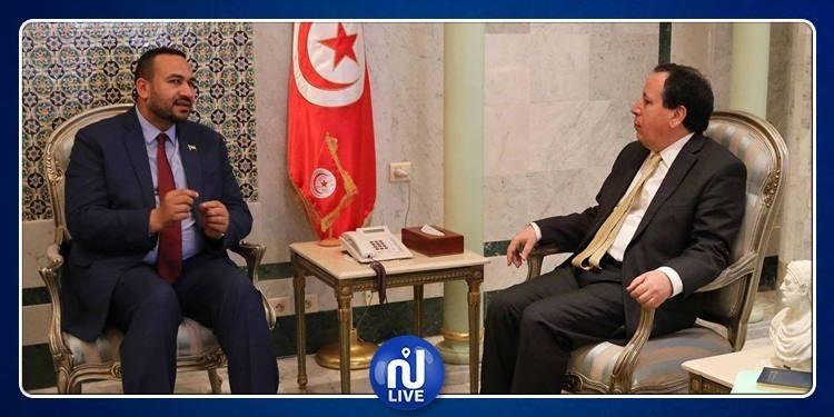 الجهيناوي: نسعى لتذليل صعوبات إعادة فتح الخط الجوي تونس الخرطوم