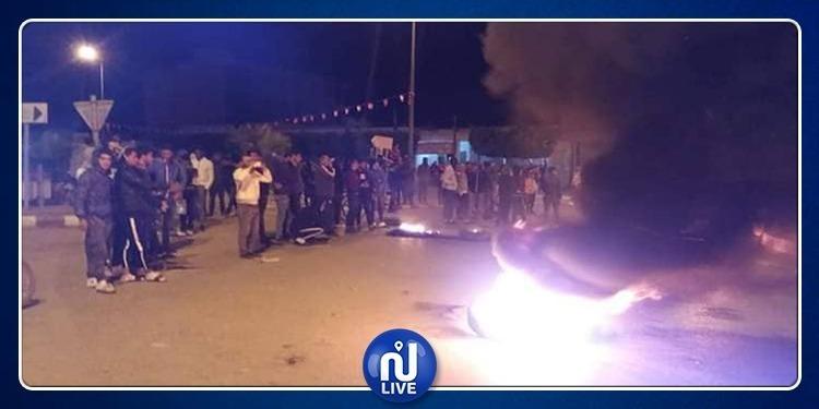 الرقاب: عودة الهدوء بعد ليلة من الإحتجاجات