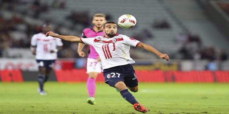 نادي ليل الفرنسي يفعل رسميا بند الشراء في عقد اللاعب التونسي نعيم السليتي