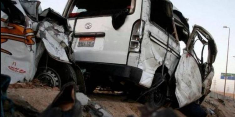 مصر: مقتل 13 شخصا في حادث مرور مروّع