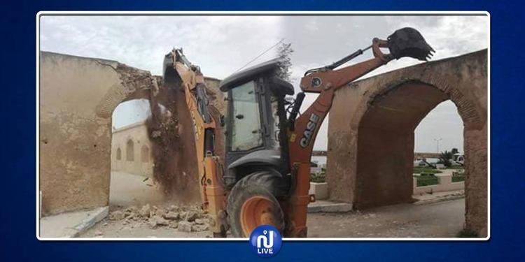 غار الملح: استكمال أشغال ترميم قوس ''القشلة''