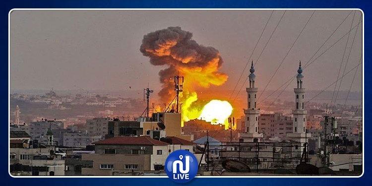 استشهاد 3 فلسطينيين من عائلة واحدة خلال القصف الصهيوني على غزة