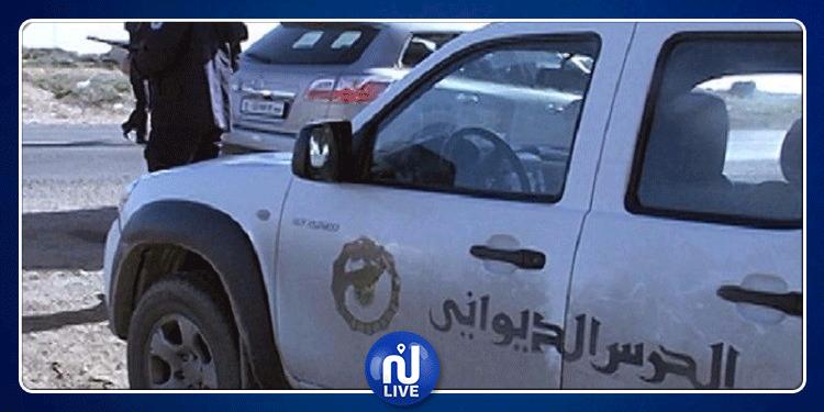 القصرين:اصابة ديواني بكسر على مستوى الكتف أثناء عملية مطاردة