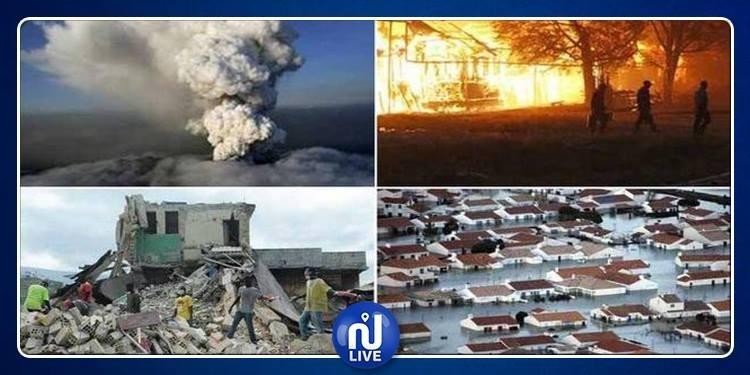Les catastrophes naturelles en 2018 ont coûté des milliards !