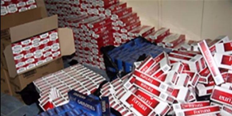 صفاقس: حجز 4 ألاف علبة سجائر مهربة