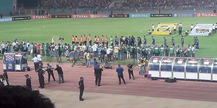 اياب دور ربع نهائي لدوري أبطال أفريقيا  : الترجي ينهي الشوط الأول متقدما 1 صفر