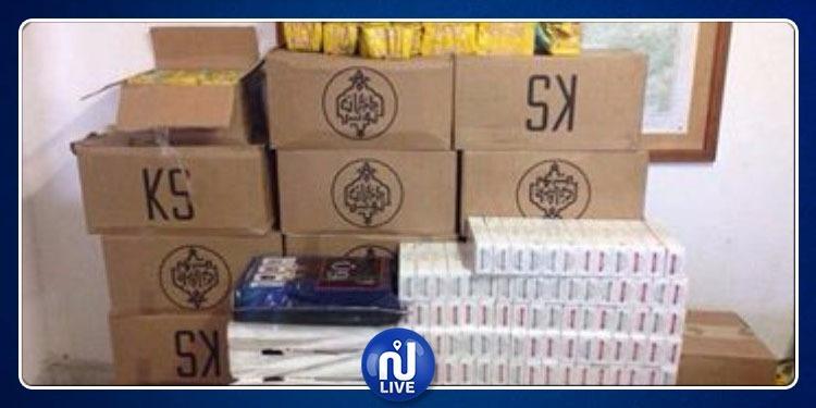 حي النصر: حجز كميات هامة من السلع المهربة بقيمة 60 ألف دينار