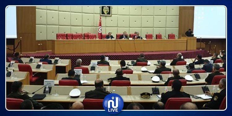 اجتماع مديري الأقاليم ورؤساء المناطق الجهوية للأمن والحرس الوطنيين