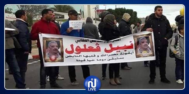 نصر الله: الأهالي يحتجون ضد الانفلات الأمني ومخاطر شاحنات التهريب