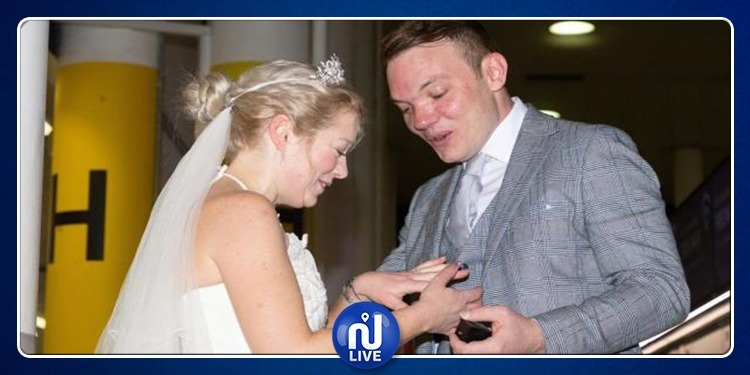 مكالمة هاتفية فموعد فزواج..هذا هو أسرع زواج في العالم! (صور)
