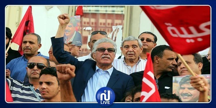حمة الهمامي: لا بد من مقاومة الإئتلاف الحاكم بكل الوسائل المدنية