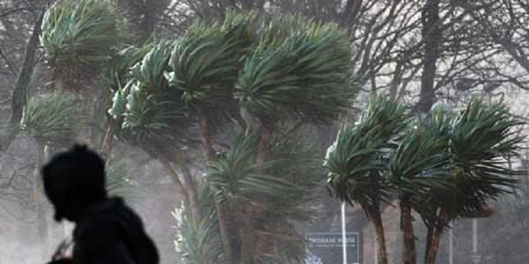 Alerte Météo : Rafales de vent sur le pays, d'une vitesse de +90 Km/h