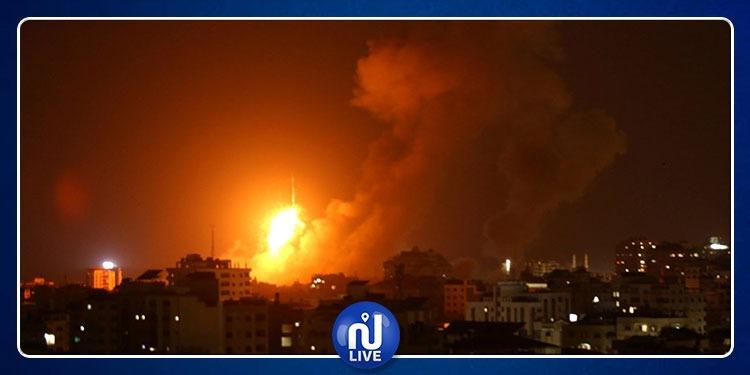 طائرات الاحتلال تقصف 3 مناطق في غزة