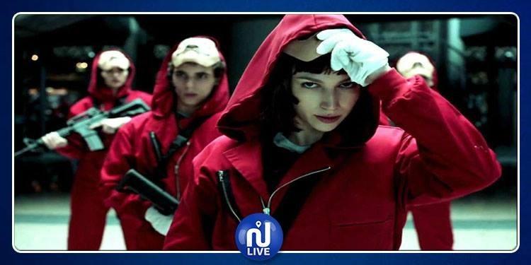 Netflix dévoile des photos de la saison 3 de ''La Casa de Papel''