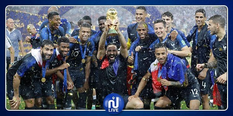 La France marque sa 1ère défaite depuis le titre...