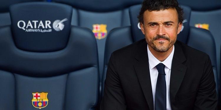 مدرب برشلونة لويس إنريكي يفجر مفاجأة ويعلن رحيله