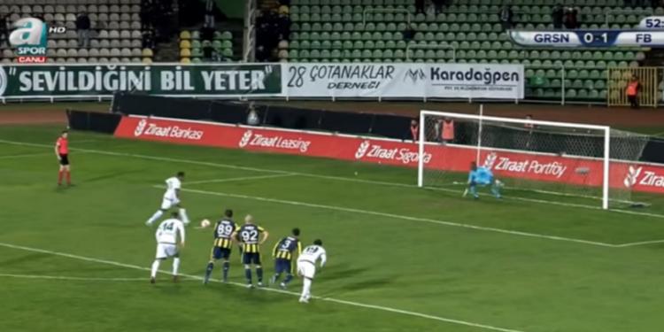 أغرب ضربة جزاء ضائعة في كأس تركيا (فيديو)