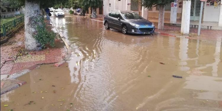 Importantes quantités de pluie à Jendouba (photos+vidéo)