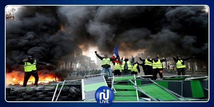 مدينـة الأنـوار ''تحترق'' (صور)