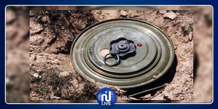 إصابة مواطن في إنفجار لغم بجبل مغيلة
