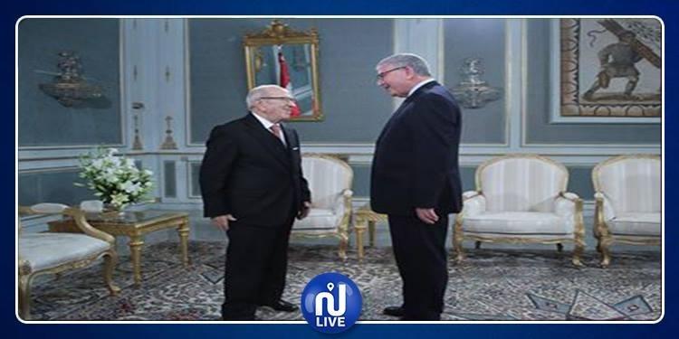 فحوى لقاء رئيس الجمهورية بوزير الدفاع الوطني