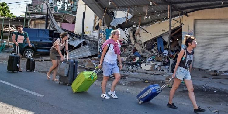 Séisme en Indonésie…4 600 touristes en cours d'évacuation