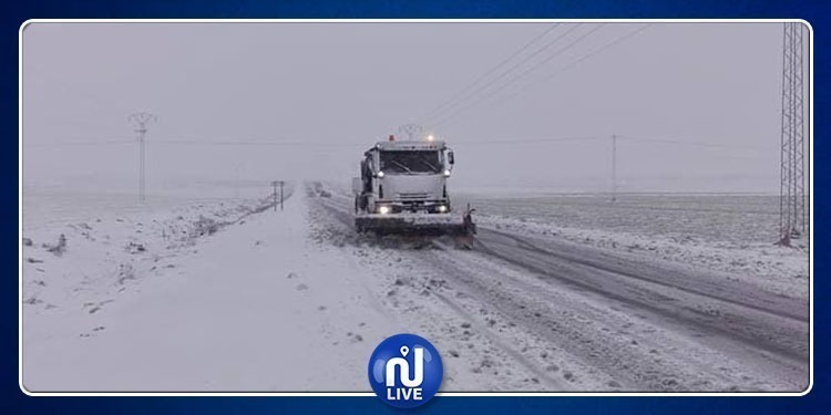 تحيين لوضعية الطرقات إثر موجة البرد والثلوج