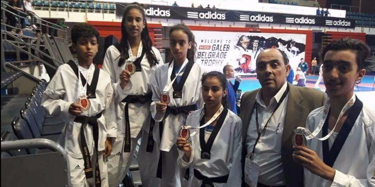 تايكواندو: تونس تُحرز خمس ميداليات في اليوم الأول من منافسات دورة صربيا الدولية