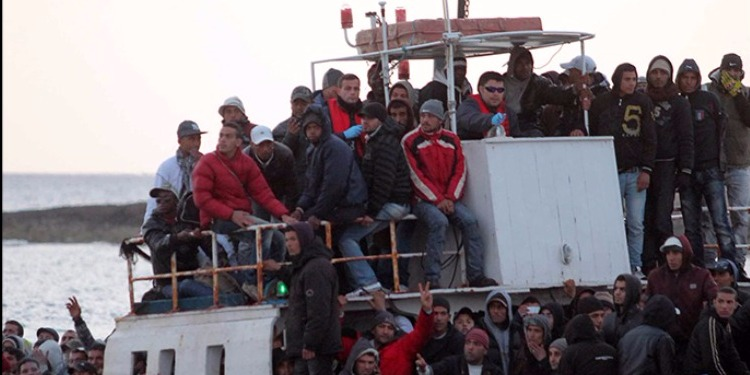في أسبوع فقط...845 مهاجرا غير نظامي وصلوا إلى جزيرة ''لامبيدوزا''