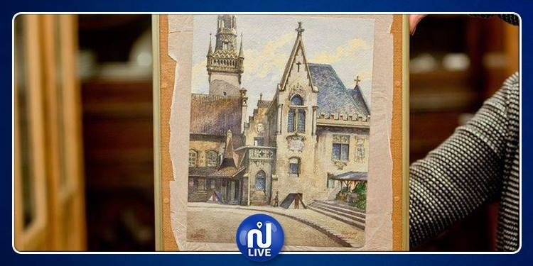 Mise aux enchères des tableaux attribués à Hitler