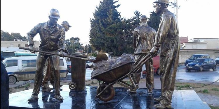 بنزرت: تكريما لعمال النظافة...تدشين مجسم بمدخل مدينة منزل جميل