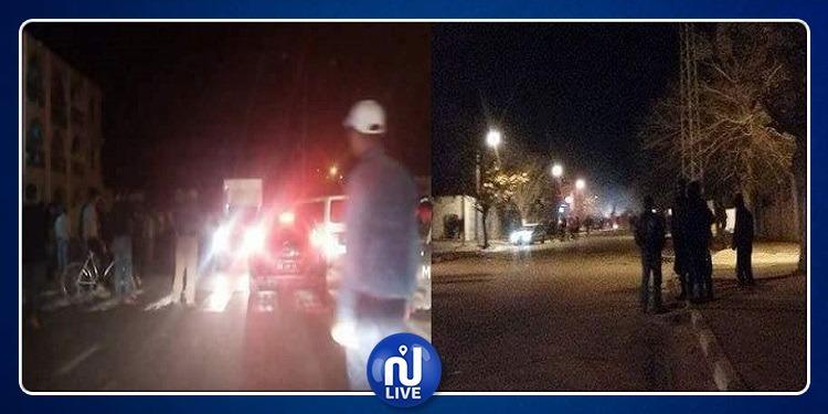 تالة: إيقاف عدد من المنحرفين رشقوا مركز الأمن الوطني بالحجارة