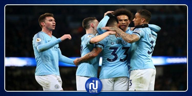 Coupe d'Angleterre: Manchester City qualifié pour la finale