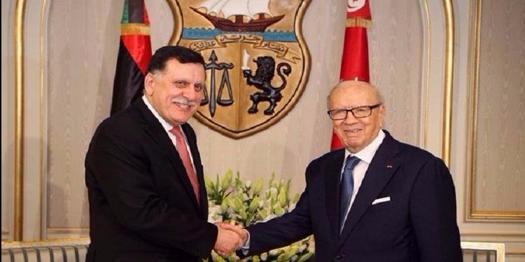 فايز السراج يثمّن مبادرة تونس لحل الأزمة الليبية