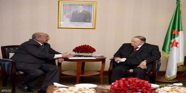 الجزائر: أول ظهور لبوتفليقة في التلفزيون منذ إلغاء زيارة ميركل
