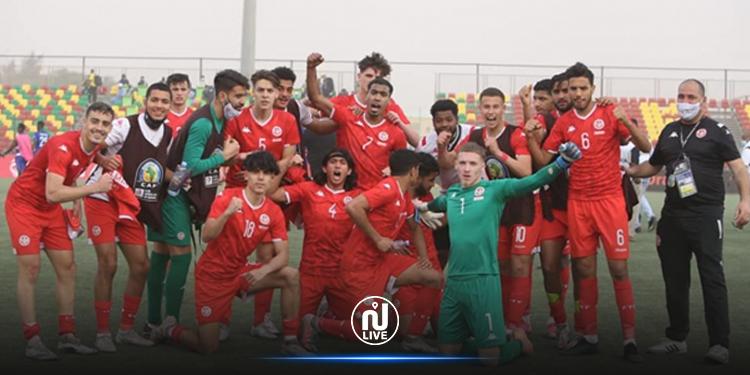 CAN U20 : la Tunisie en demi grâce aux frères Laabidi