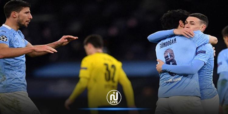 Ligue des Champions : Le Real Madrid et Manchester City prennent une légère option.