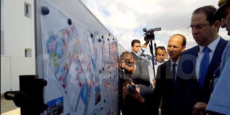 جبل الجلود: رئيس الحكومة يدشن مدرسة الحماية المدنية (صور)