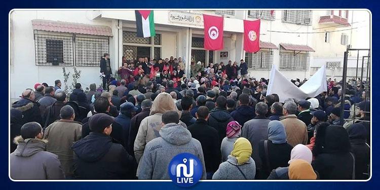 جندوبة: انخراط شبه كلّي في الإضراب العام (صور)