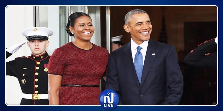 أوباما: 'إذا ترشحت للرئاسة مجددا زوجتي ستنفصل عني'