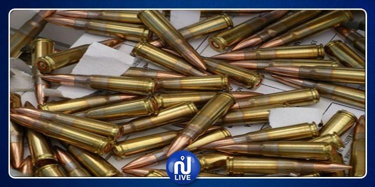 شط مريم: حجز حوالي 500 خرطوشة كلاشنكوف