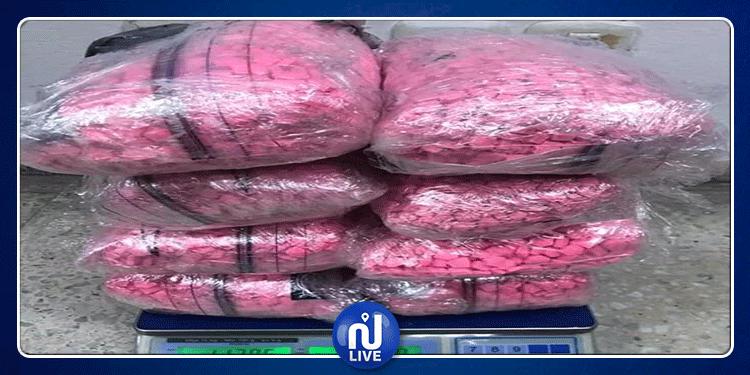 ضبط 40 ألف قرص مخدّر على متن باخرة قادمة من مرسيليا(صور)