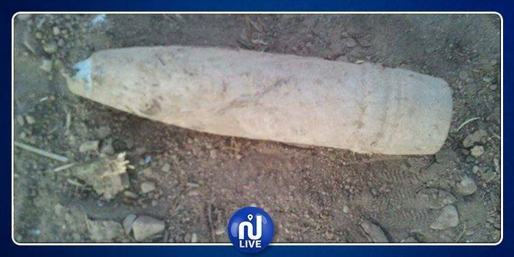 الوسلاتية: العثور على قذيفة مدفعية