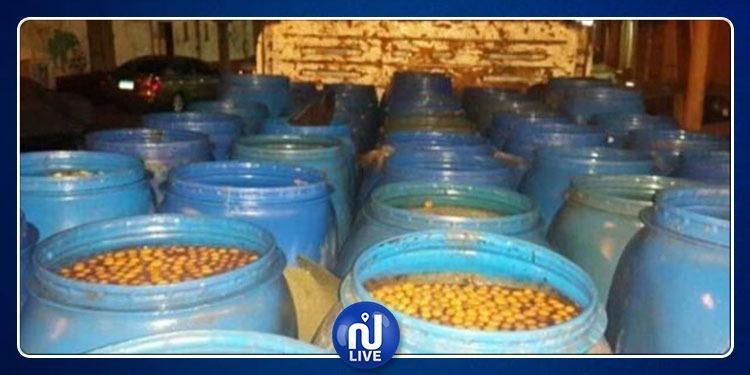الكاف: حجز 1430 كلغ من الزيتون والفلفل غير صالحة للاستهلاك