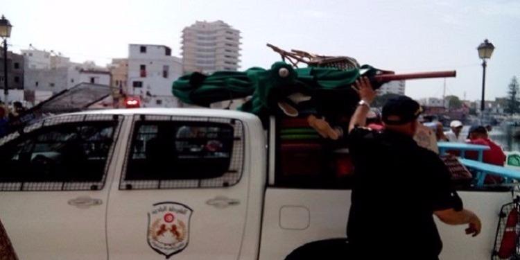 حجز مواد مدعمة وسلع مهربة خلال حملة للشرطة البلدية