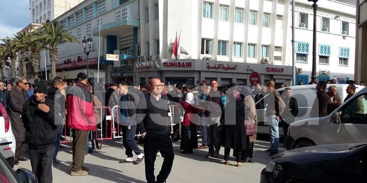 سوسة: أمنيون يحتجون  ضد إيقاف زملائهم على خلفية قتل إرهابي
