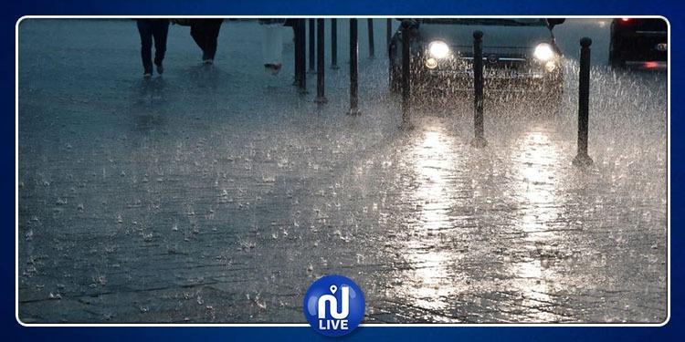 Jendouba: Les quantités de pluies atteignent les 28mm